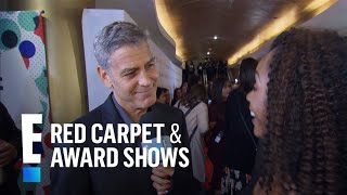 George Clooney's Twins Have Amal's Eyes | E! Live from the Red Carpet