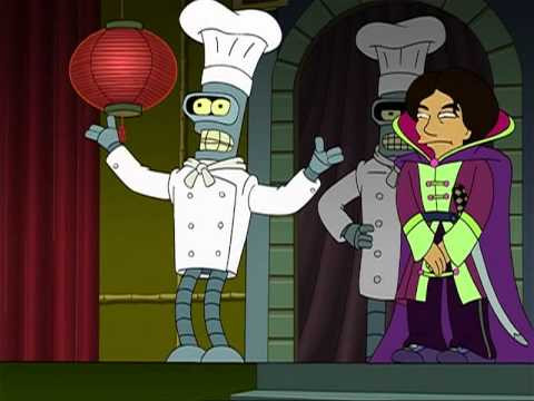 Futurama The 30 Iron Chef Youtube