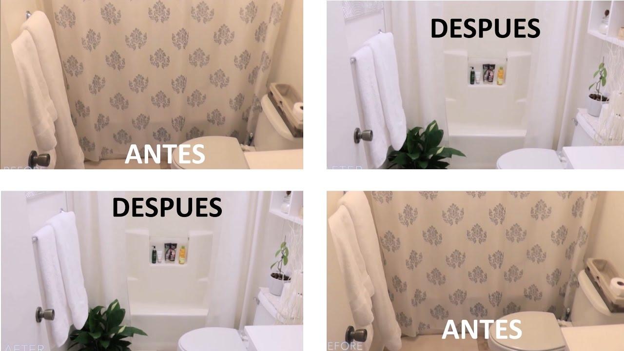 Baño Pequeño Cambio De Imagen Decoración Zen Youtube