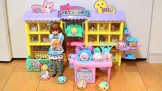 リカちゃん ハムスターのお世話 Licca played with hamster.