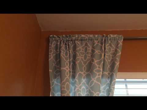 DIY Easy curtain rod