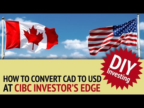 Norbert's Gambit At CIBC Investor's Edge | DIY Investing With Justin Bender
