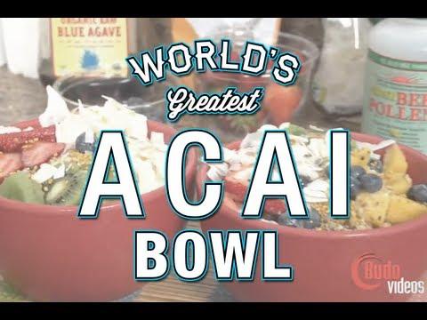 Worlds best Acai bowl recipe with AJ Agazarm - Secrets revealed!