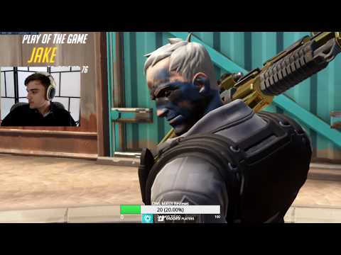 JAKE SOLDIER 76 - SHOWING HIS TRACKING SKILLS! POTG! [ OVERWATCH SEASON 20 TOP 500 ]