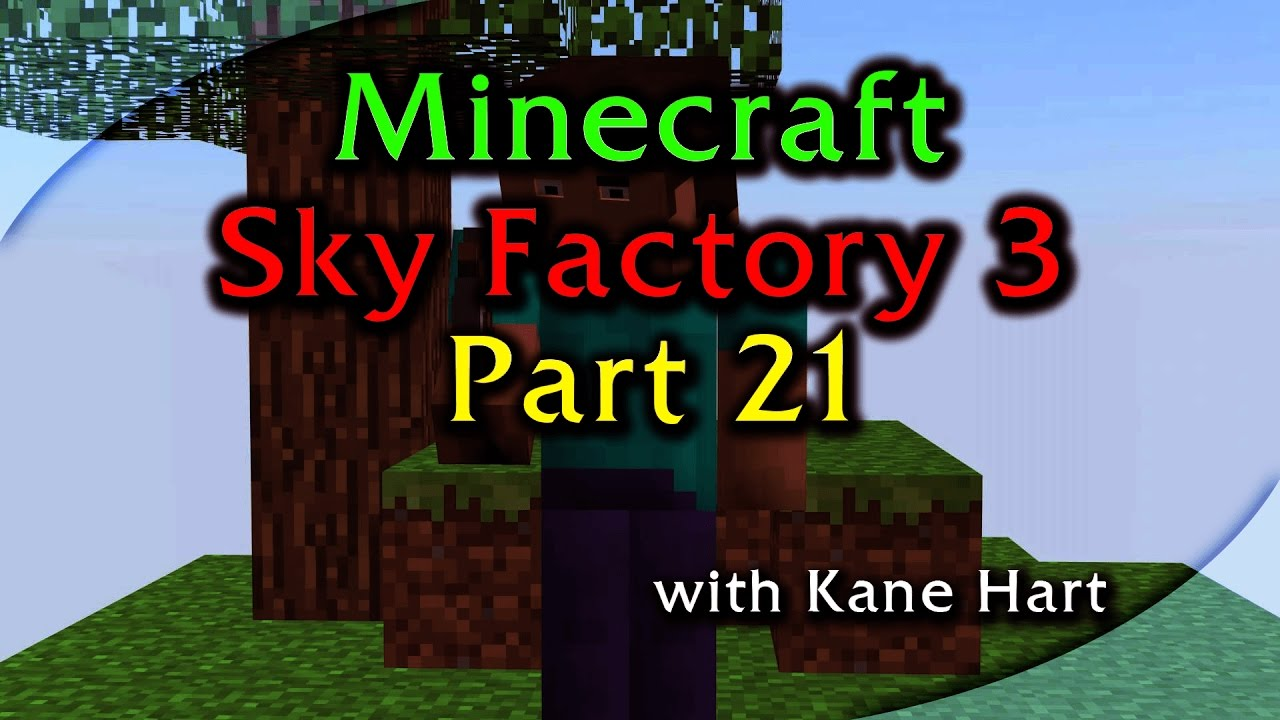 Sky Factory 3 - Part 21 - Refined Storage Automation With Farm / Ender IO  Conduits!