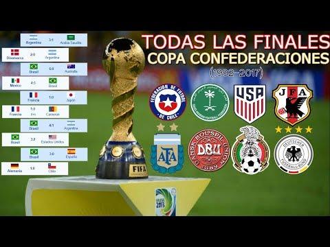 Todas Las Finales De La Copa FIFA Confederaciones