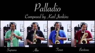 Palladio (By Karl Jenkins) - Soprano, Alto, Tenor and Baritone Saxophone Quartet