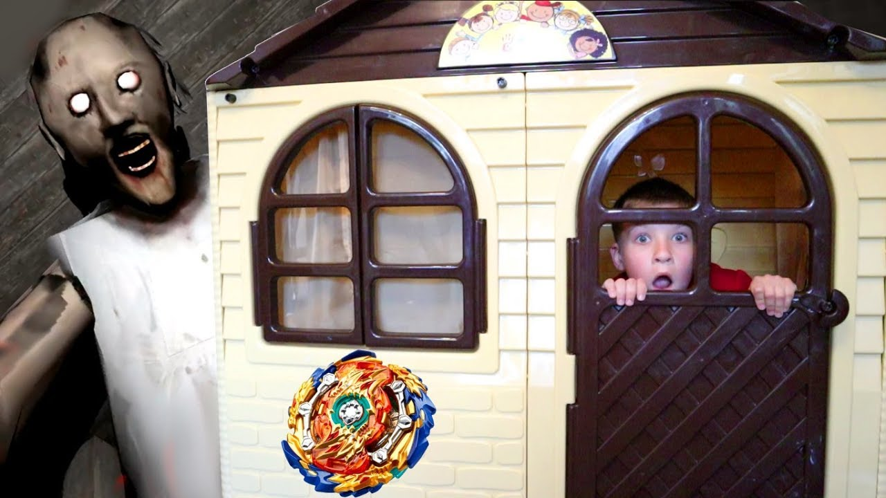 ЧЕЛЛЕНДЖ 24 часа в ДоМиКе ???? для детей! Тима ночью слышал бабулю Гренни ???? !