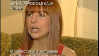 Natalia Podolskaya Eurovision interview by Tomi Lindblom (2005) / Finland