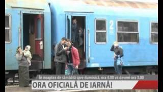 ORA OFICIALA DE IARNA