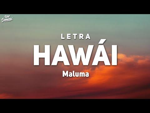 Maluma – Hawái (Letra/Lyrics)