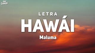 Maluma - Hawái (Letra/Lyrics)