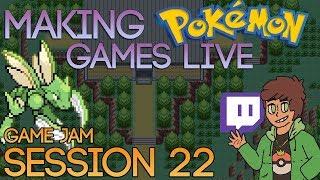 Making Pokemon Games Live (Game Jam Session 22)