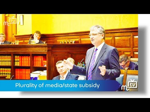 Plurality of media/state subsidy