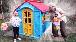 ÖYKÜ'NÜN SİHİRLİ EVİ Öykü and Pretend Play Magic Hause - fun kids video Oyuncak Avı