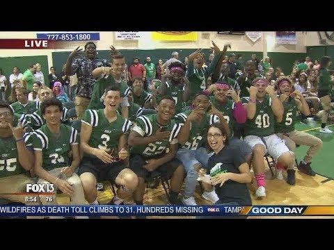 FOX 13 Pep Rally: Gulf High School