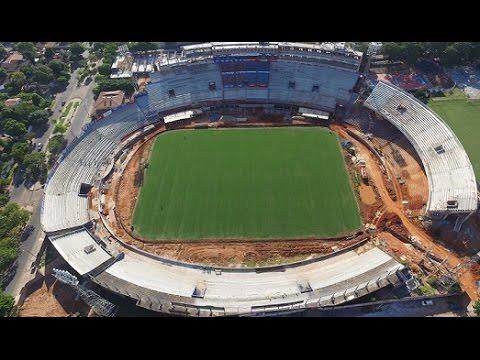 Las refacciones en la Nueva Olla Azulgrana - Club Cerro Porteño - Abril 2016