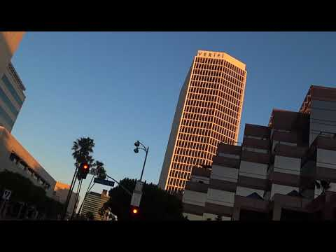 Los Angeles Evening Bicycle Ride Improv 1/2