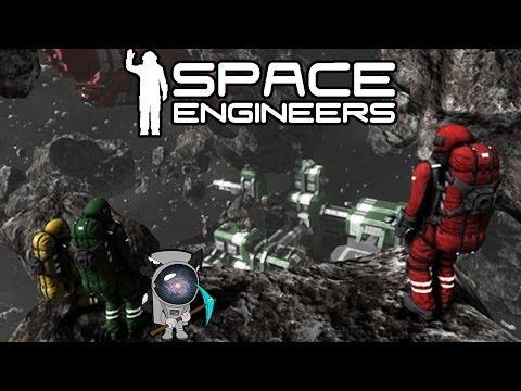 Space Engineers ( 01.002.009 ) Строительство первого маленького корабля.