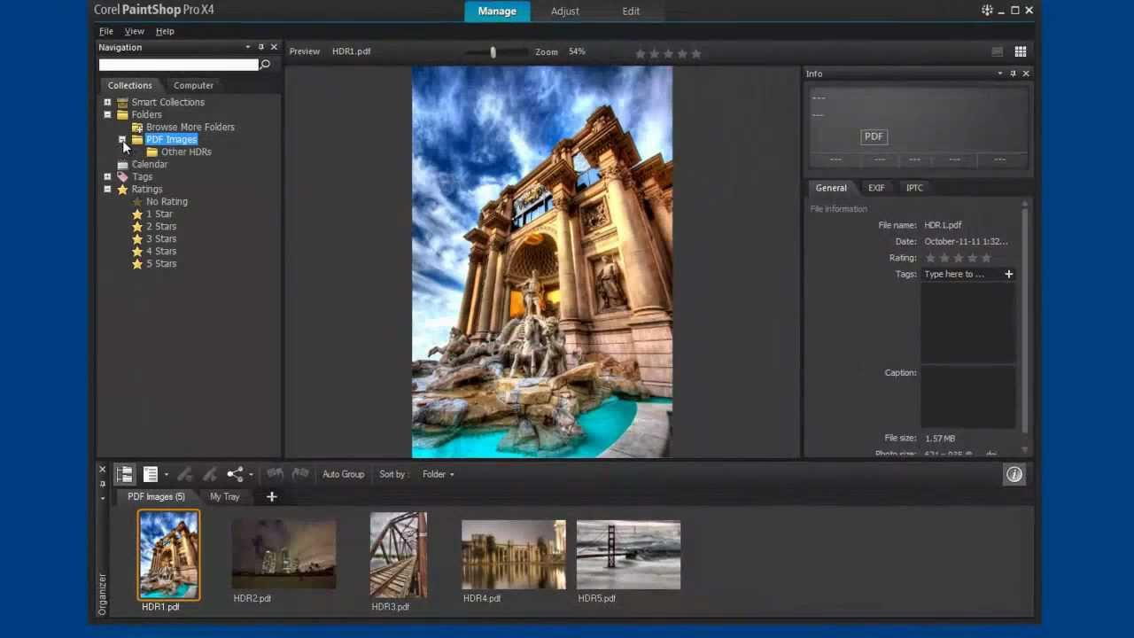 Pdf File? Watch How Easy It Is To Use Corel Paintshop Pro To Open, Edit And  Print A Pdf Image