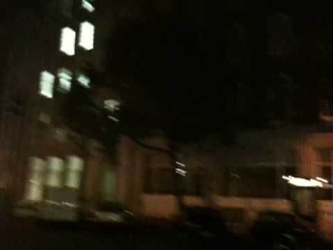 New Office and Old Spitalfields Market by night