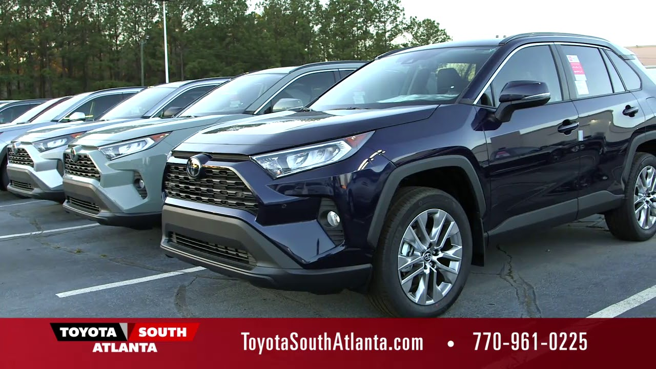 All New Redesigned 2019 Toyota Rav 4 At South Atlanta