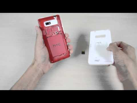 How to insert and remove the micro SD card on HTC Desire 600 dual sim