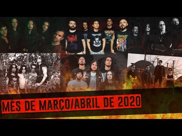 Lançamentos do METAL NACIONAL | Vol. 2 | Março e Abril de 2020