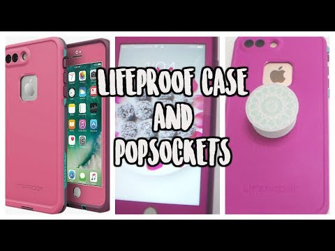 innovative design b9b9a b0e55 IPHONE 7 PLUS-Lifeproof Case & Popsockets Review - YouTube