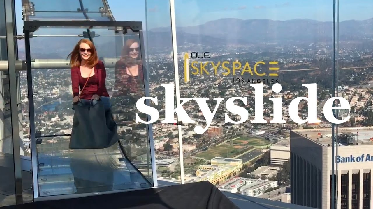 Oue Skyspace In Downtown Los Angeles Youtube