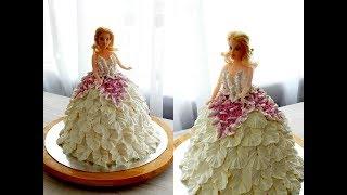 КАК СДЕЛАТЬ ТОРТ БАРБИ от SWEET BEAUTY СЛАДКАЯ КРАСОТА Barbie doll cake decoration