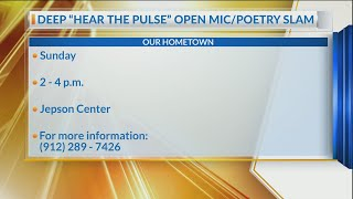 Deep Center joins forces with Jepson Center for 'Hear the Pulse' spoken word event