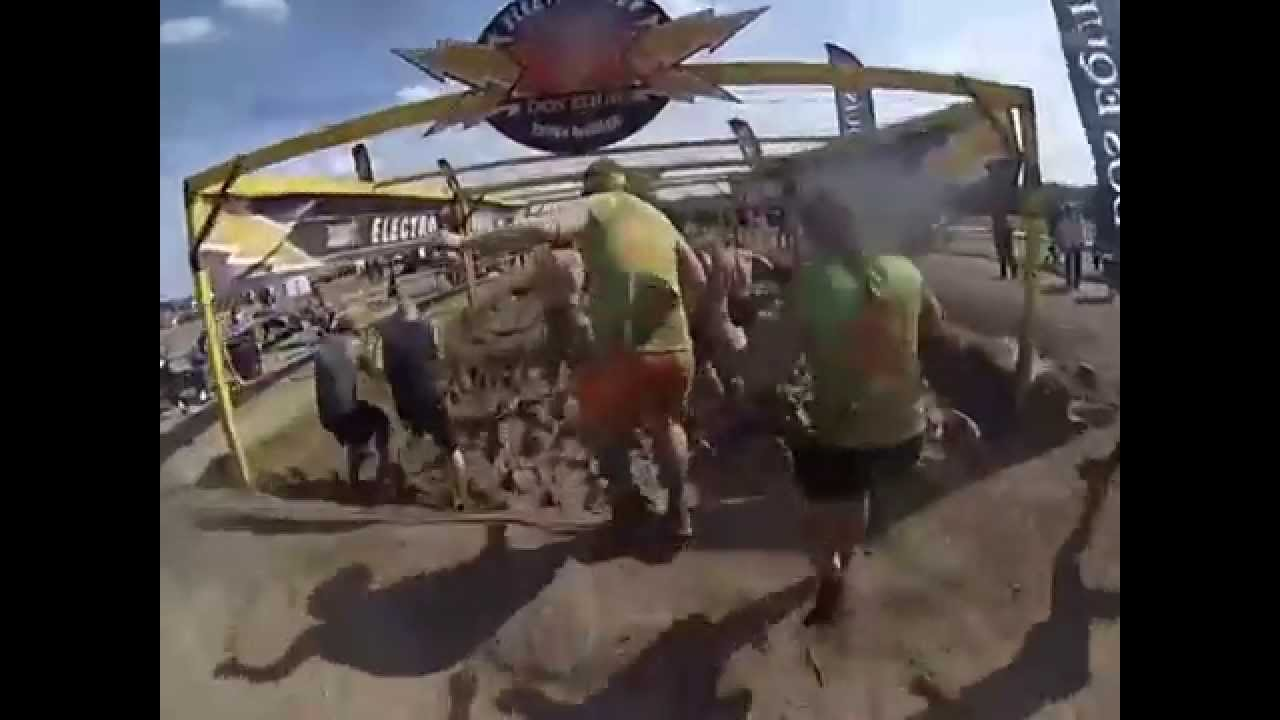 tough mudder 2014 may richmond il electroshock therapy youtube