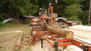 Wood-mizer Lt40 Mobile Sawmill In Slovenia