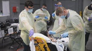 미국 사망자 1만명 넘겨…1천명 넘은지 12일만 / 연합뉴스TV (YonhapnewsTV)