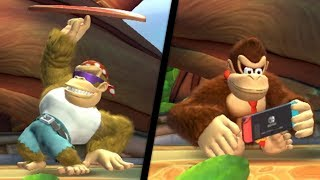 Donkey Kong Country: Tropical Freeze (Switch) - All Idle Animations