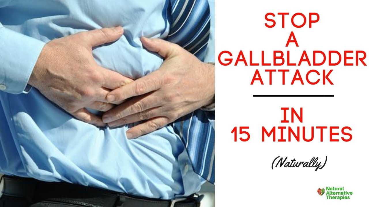 How to Stop Your Gallbladder Pain in 15 Minutes (Naturally)