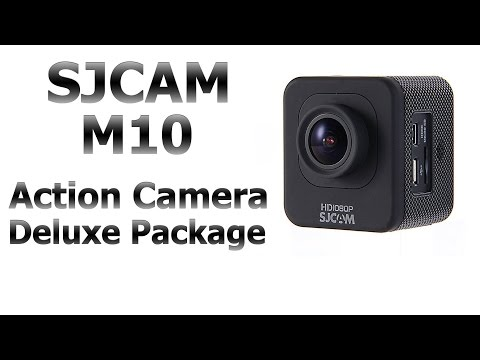 SJCAM M10 Mini Cube Style Sports Action Driving Camera Unboxing