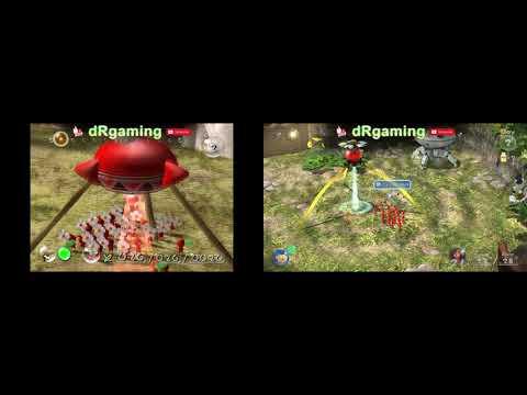 Pikmin Gamecube Vs Pikmin 3 Wii U Comparison Youtube