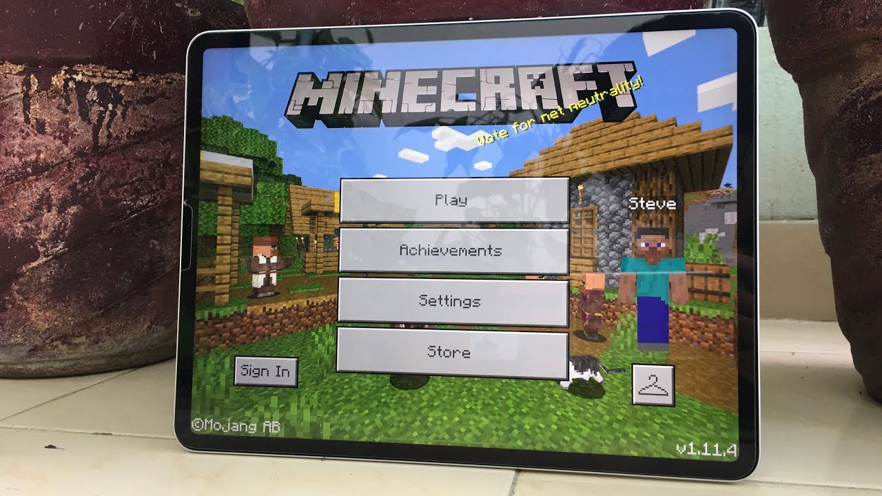Minecraft ipad cover
