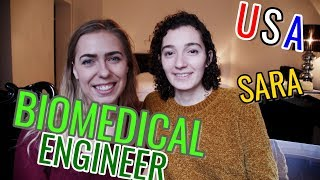 What is biomedical engineering? Sara the BIOMEDICAL ENGINEER from the USA // Women in STEM Fields