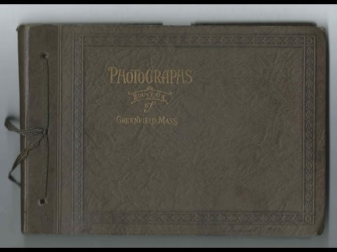 1920s Photograph Album, Presumably of a Family from the Greenfield, Massachusetts area