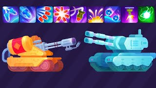 Tank Stars Gameplay   HELIOS vs FROST