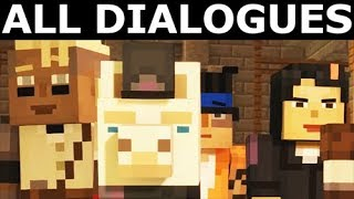 Llama Pet - All Dialogues - Minecraft: Story Mode Season 2 Episode 4: Below The Bedrock