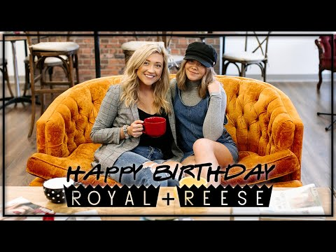 ROYAL + REESE TURNS 4 // FRIENDS THEMED PARTY
