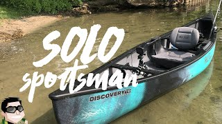 Old Town Discovery 119 Solo Sportsman Unboxing & Review