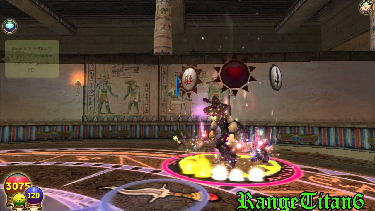 Wizard 101- Myth Promethean PvP 1v1 Episode 5 -RangeTitan6