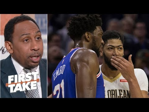 No way I'm trading Joel Embiid for Anthony Davis – Stephen A. | First Take
