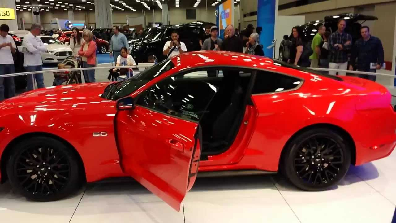 2015 mustang gt walk around dallas auto show youtube. Black Bedroom Furniture Sets. Home Design Ideas