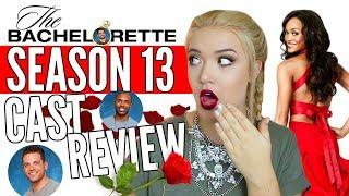 The Bachelorette Cast First Impressions | Rachel Lindsay Season 13